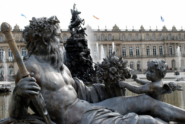 Neptune, Herrenchiemsee