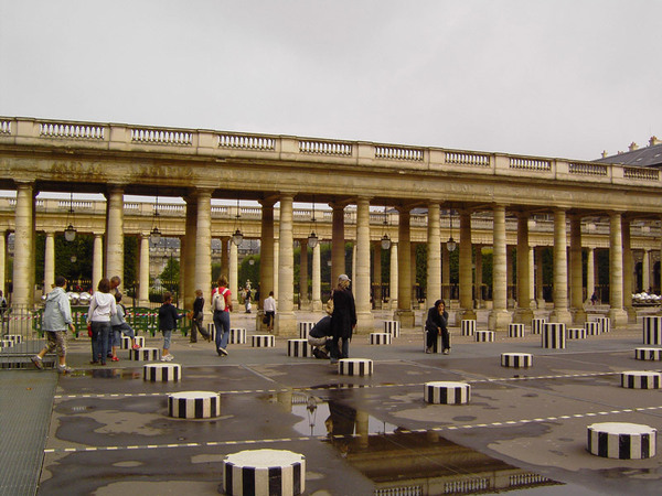 Sculptures, Palais Royal