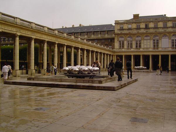 Palais Royal, August 2007