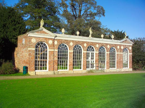 Orangery, Burton Constable Hall Garden