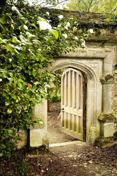 Entrance to Kitchen Garden