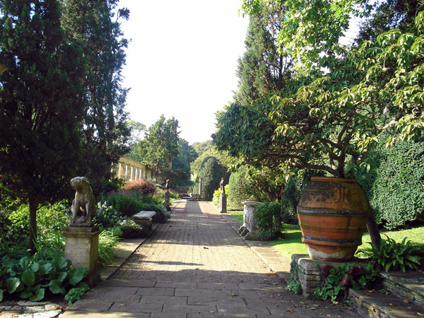 Iford Manor Garden, Wiltshire
