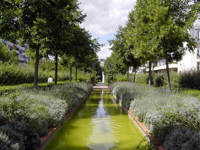 Promenade plantee for Piscine 75012