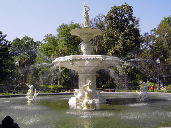 Fountain, Forsyte Park