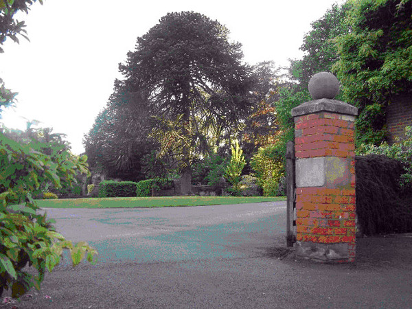 Stockton Bury Gardens, Herefordshire