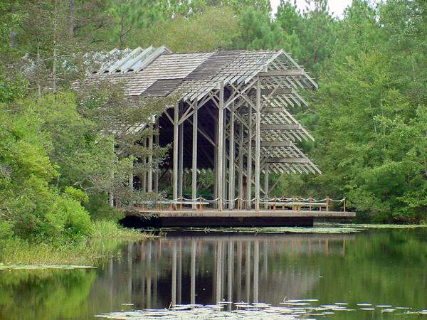Pavilion, Crosby Arboretum