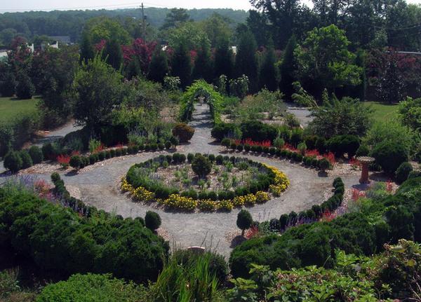 Barrington Hall Garden, Georgia