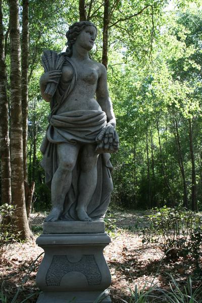 Statue, Dothan Botanical Gardens