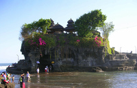 Medium pura tanah lot sea temple original