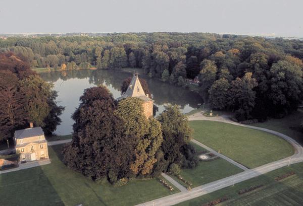 Ariel View, Parc d'Enghein