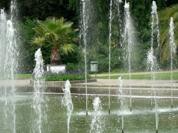 Fountains, Palmengarten
