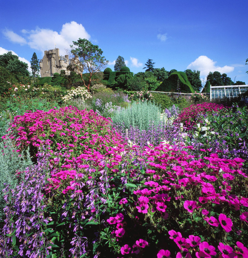 Crathes Castle Garden, Scotland