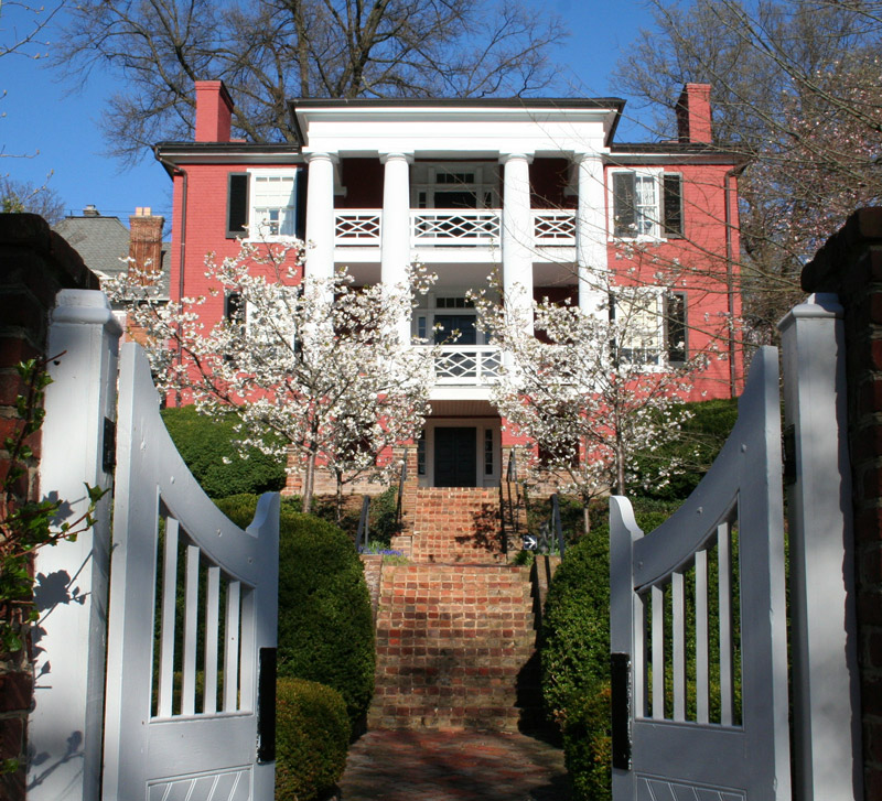 Woodrow Wilson's Birthplace, Spring
