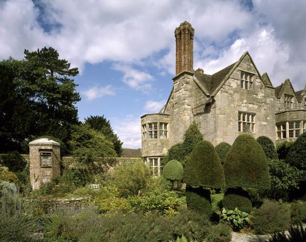 Benthall Hall Garden, Shropshire