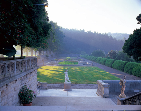 Italian Garden, Biltmore Gardens