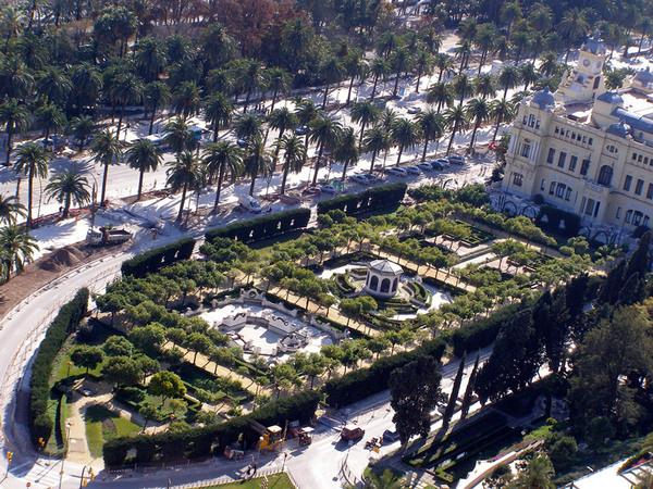 Jardines de Pedro Luis Alonso, Malaga