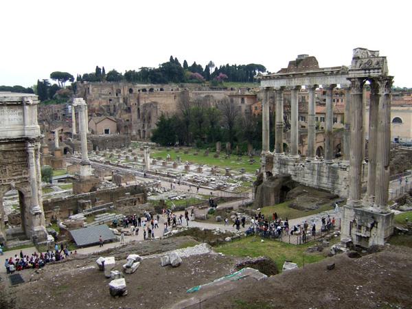 Forum Romanum, Italy