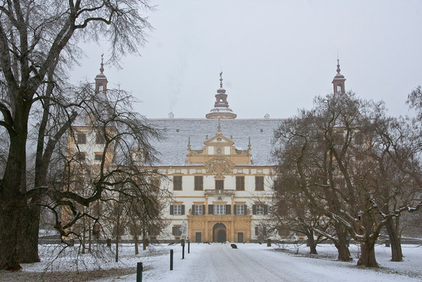 Schloss Eggenberg in Winter