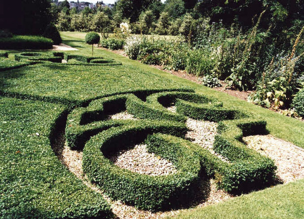 Small Parterre, Castle Bromwich Hall