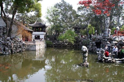 Lion Grove Garden or Stone Lion Grove Shi Zi Lin