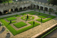 Medium aberglasney cloister garden original