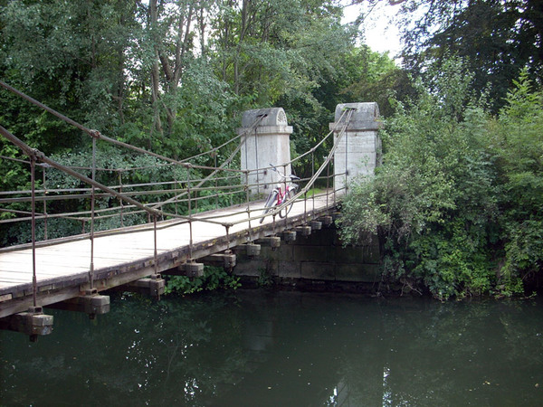 Bridge, Park an der Ilm