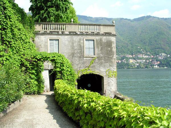 Villa Pizzo Garden, Lake Como