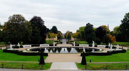Pond, Park Sanssouci