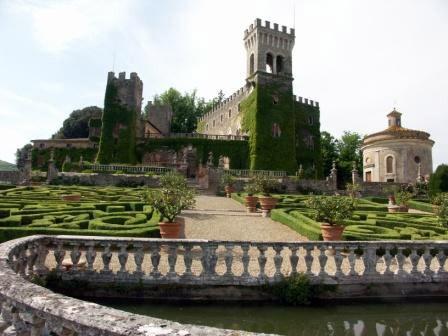 Castello di Celsa Garden