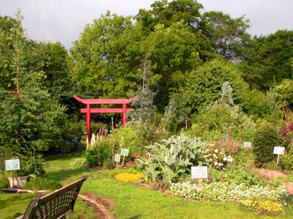 Dilston Physic Garden, Northumberland