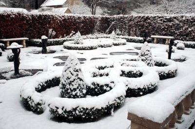 Knot Garden, Barnsdale Gardens