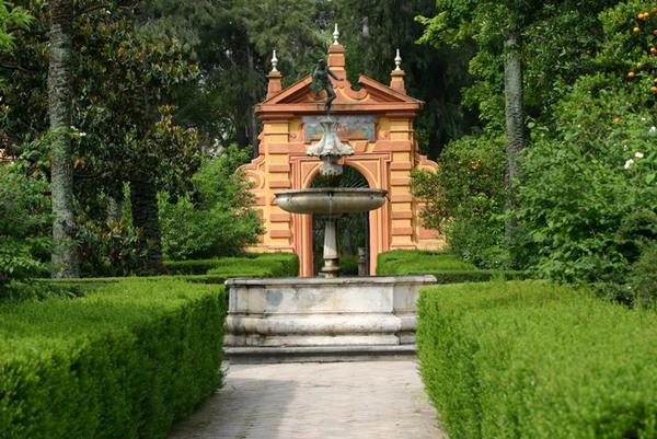 Jardines de las Reales Alcazares, Seville