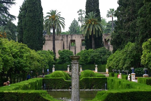 Jardines de las Reales Alcazares, Andalucia