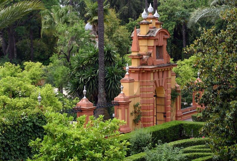 Jardines de las reales alcazares - Jardines de andalucia ...