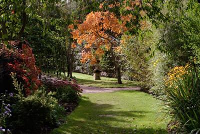 Barnsdale Gardens, Autumn