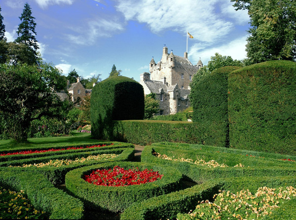 Cawdor Castle Garden, Highlands