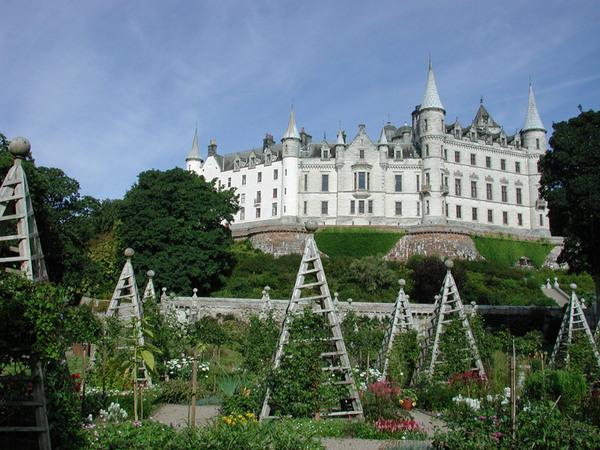 Dunrobin Castle Garden, Scotland