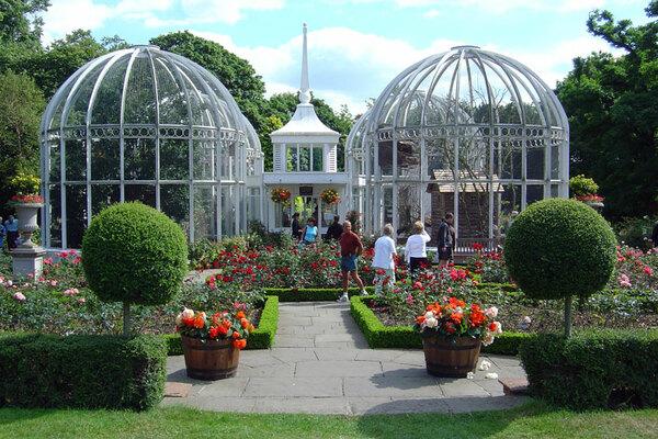 Glasshouses, Birmingham Botanical Gardens