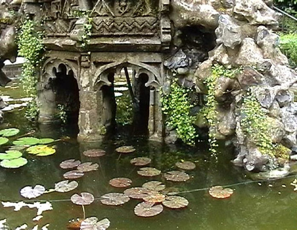 Pond, Plantation Garden