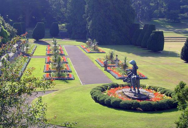 Dyffryn Botanic Gardens, Wales