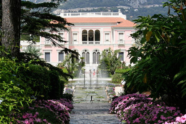 Villa Ephrussi de Rothschild, August 2008