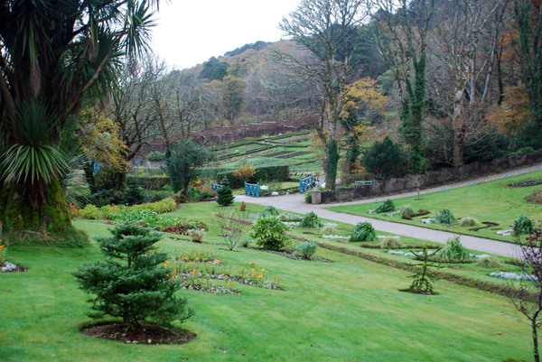 Kylemore Abbey Gardens, November