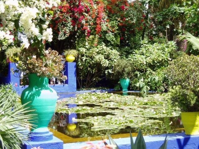 jardin majorelle morocco - Majorelle Garden