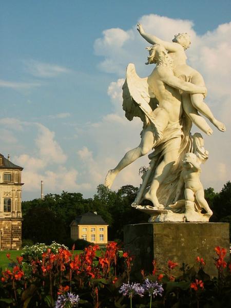 Statue, Palais Grosser Garten
