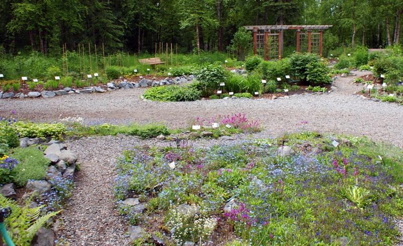 alaska botanical garden anchorage - Alaska Botanical Garden