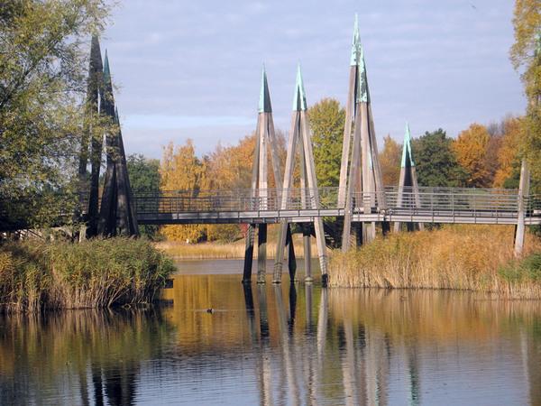 Bridge, Britzer Garten