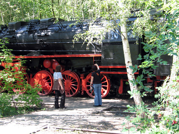 Train, Suedgelaende Nature Park
