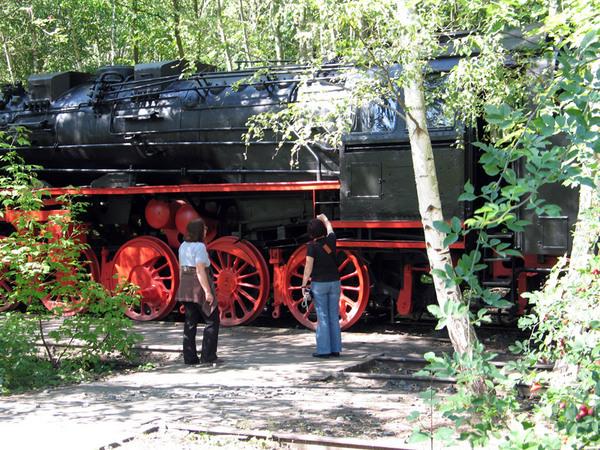 Train, Suedgelaende Nature Park