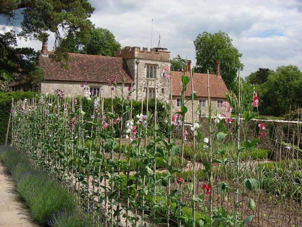 Cuttings Garden, Ightham Mote