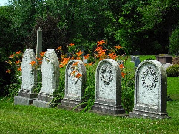 Mount Auburn Cemetery Garden